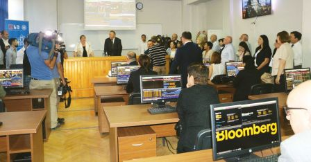 Bloomberg International Training and Research Lab Opened at TSU