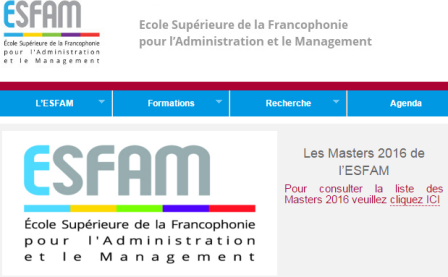 French Language Master's Program