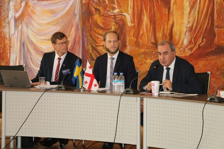 Swedish-Georgian Contact Seminar on Cooperation in the Sphere of Education