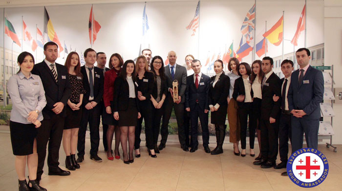 TSU Students Visit EU, NATO Institutions